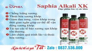 Kiềm Xương Khớp – Saphia Alkali XK