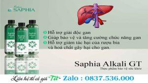 Kiềm Hồi Sinh Gan Thận – Saphia Alkali GT
